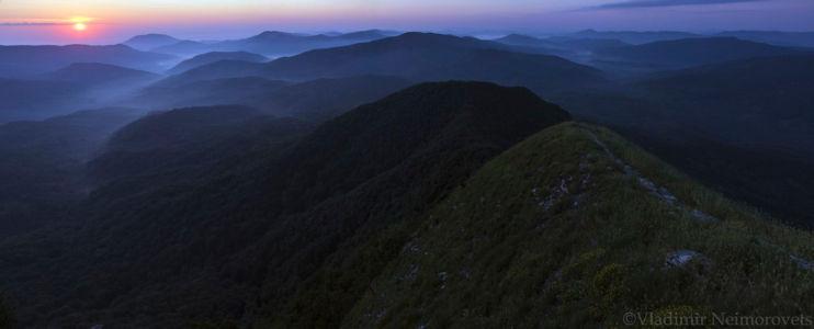 Papai mountain range_Krasnodar Territory_panorama1