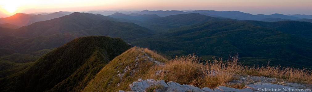 Papai mountain range_Krasnodar Territory_panorama3